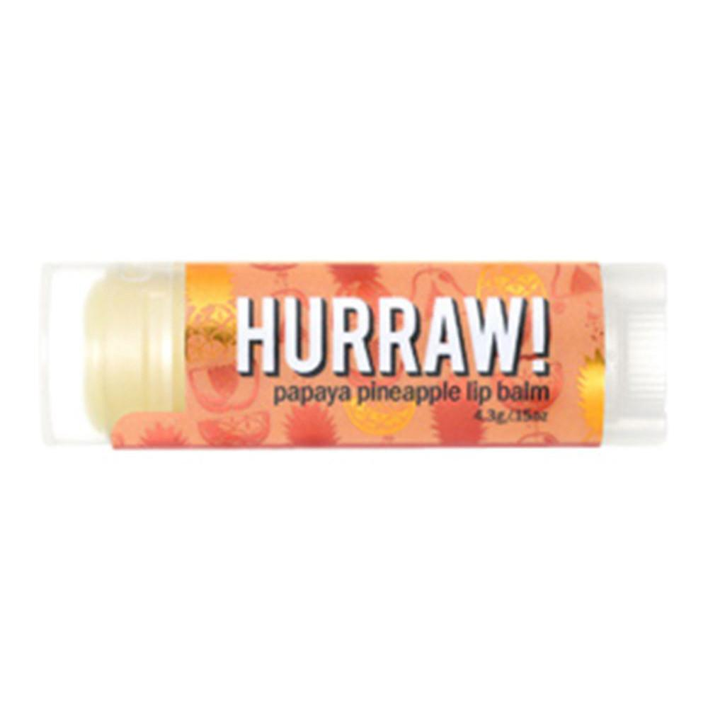 Hurraw! Lip Balm Papaya Pineapple 4.3g