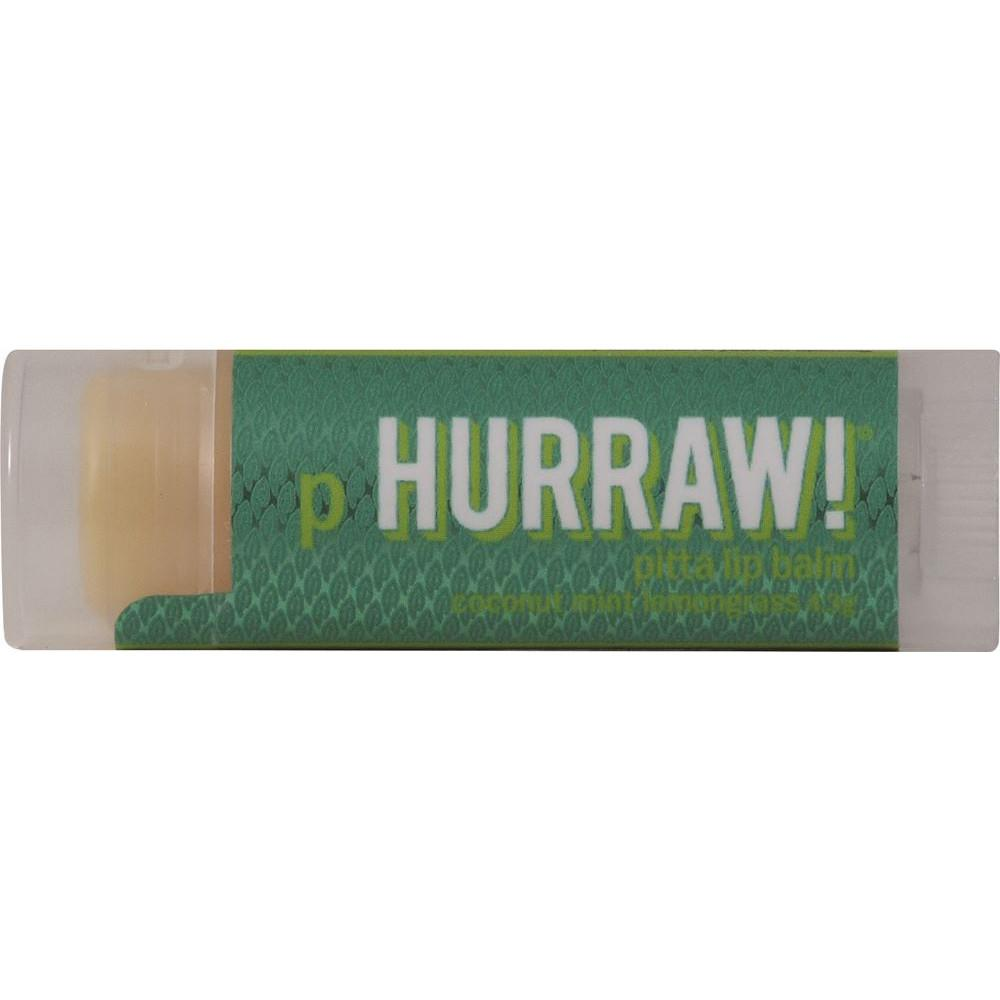 Hurraw! Lip Balm Pitta (Coconut, Mint & Lemongrass) 4.3g