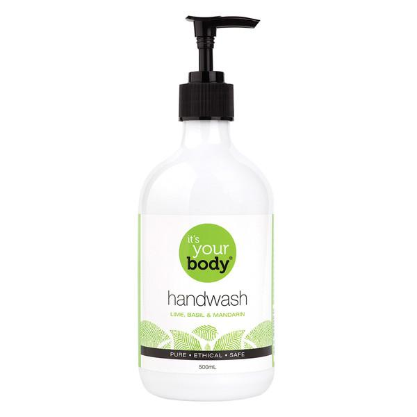 It's Your Body Hand Wash Lime Basil Mandarin 500ml