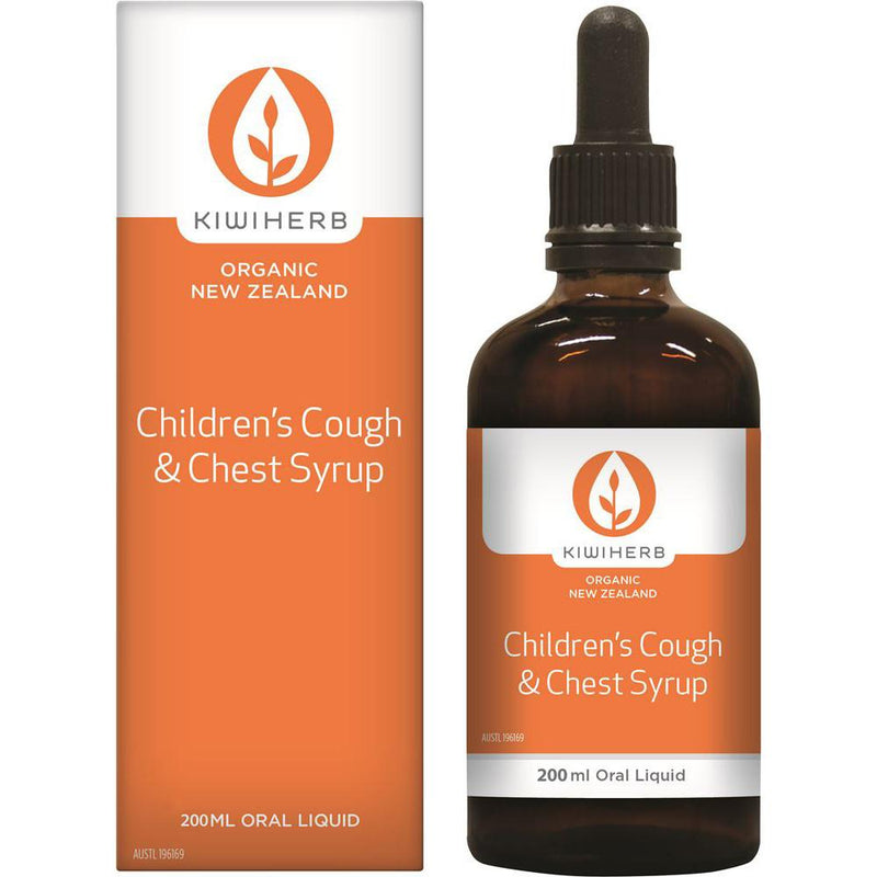 KiwiHerb Children's Cough & Chest Syrup 200ml