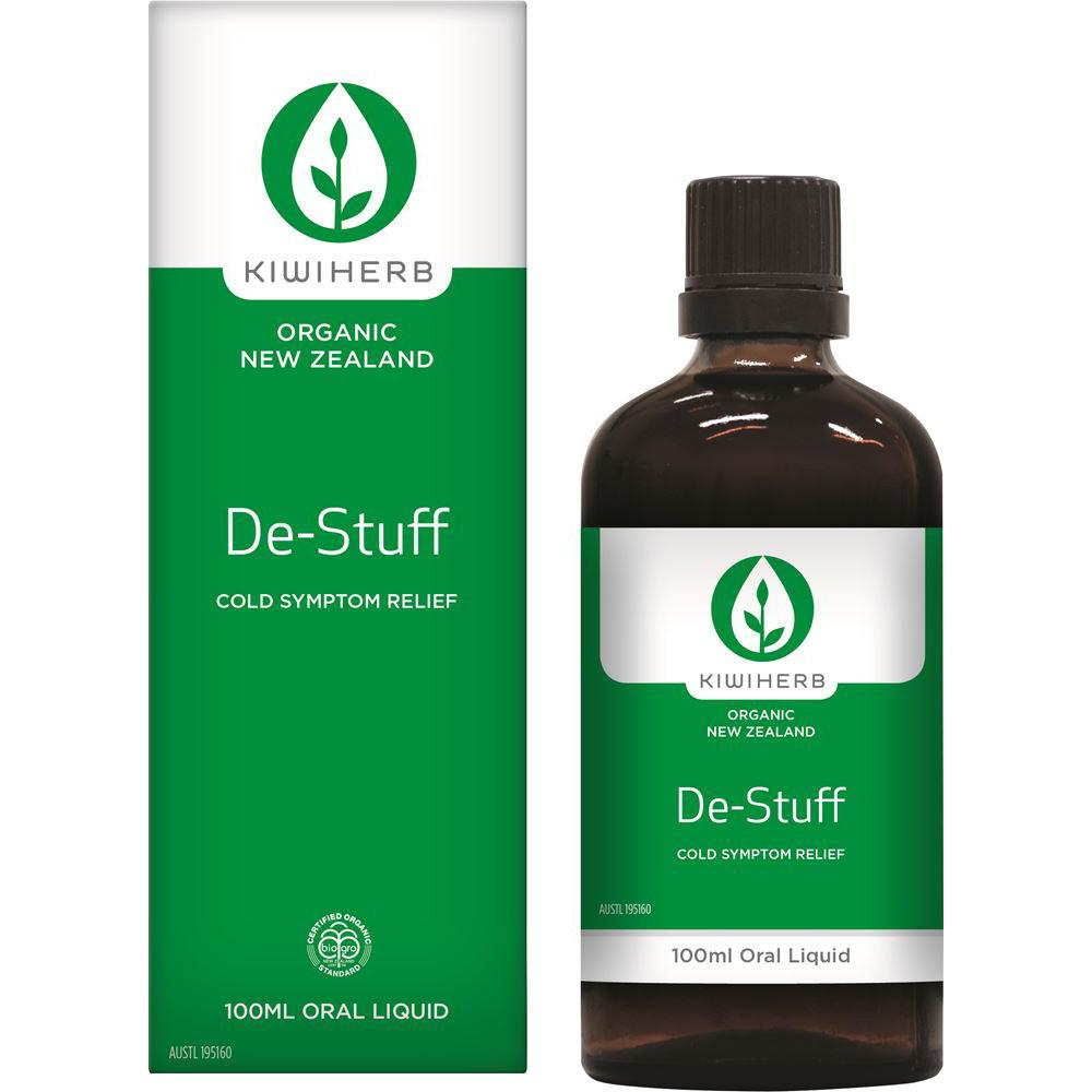 KiwiHerb De-Stuff Cold Symptom Relief 100ml