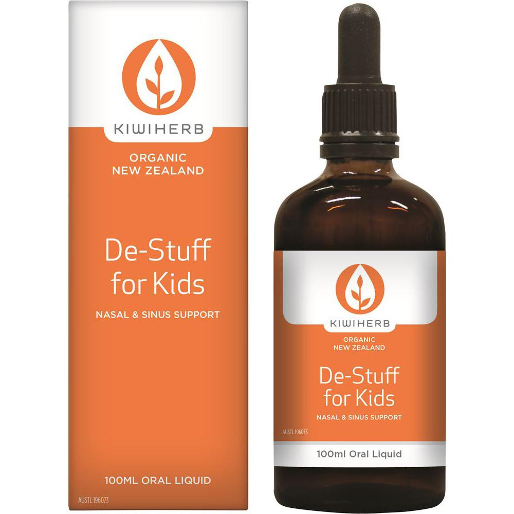 KiwiHerb De-Stuff for Kids Nasal and Sinus Support 100ml