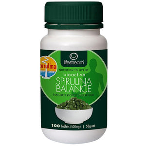 LifeStream Bioactive Spirulina Balance 500mg 100t