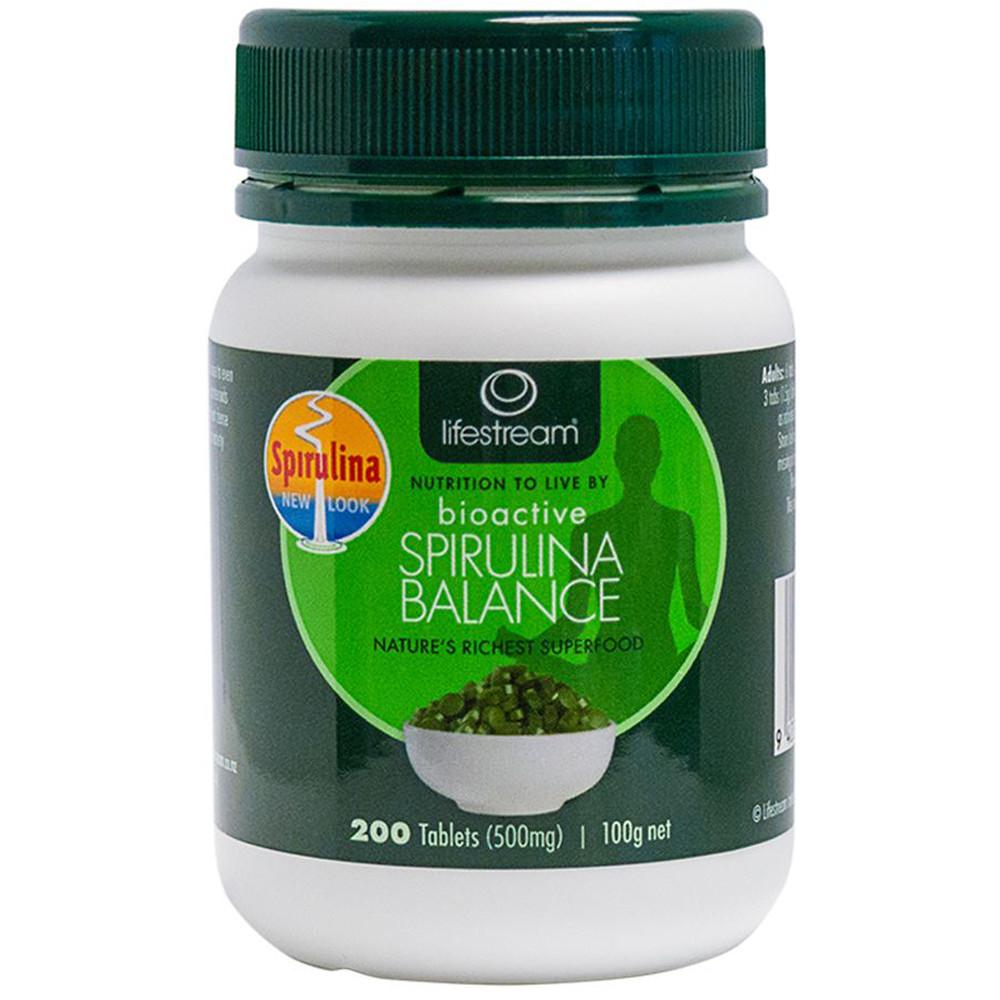 LifeStream Bioactive Spirulina Balance 500mg 200t