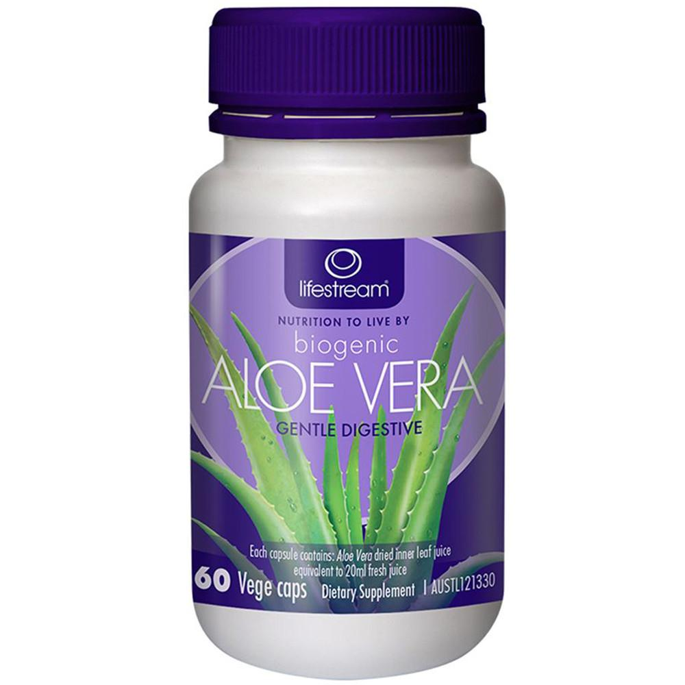 LifeStream Biogenic Aloe Vera 100mg 60vc