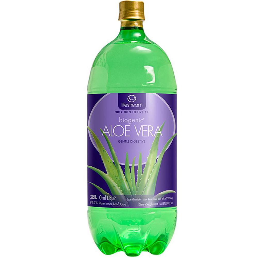 LifeStream Biogenic Aloe Vera Juice 2L