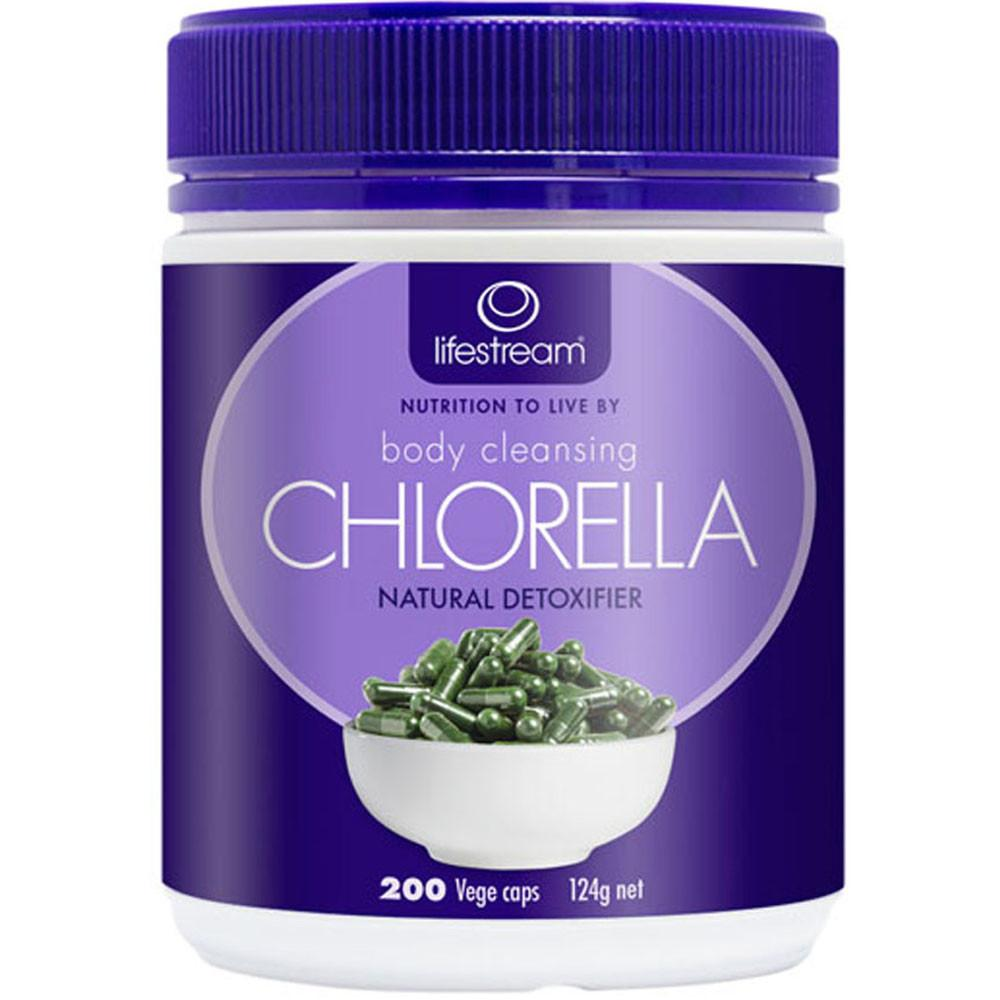 LifeStream Body Cleansing Chlorella 200vc