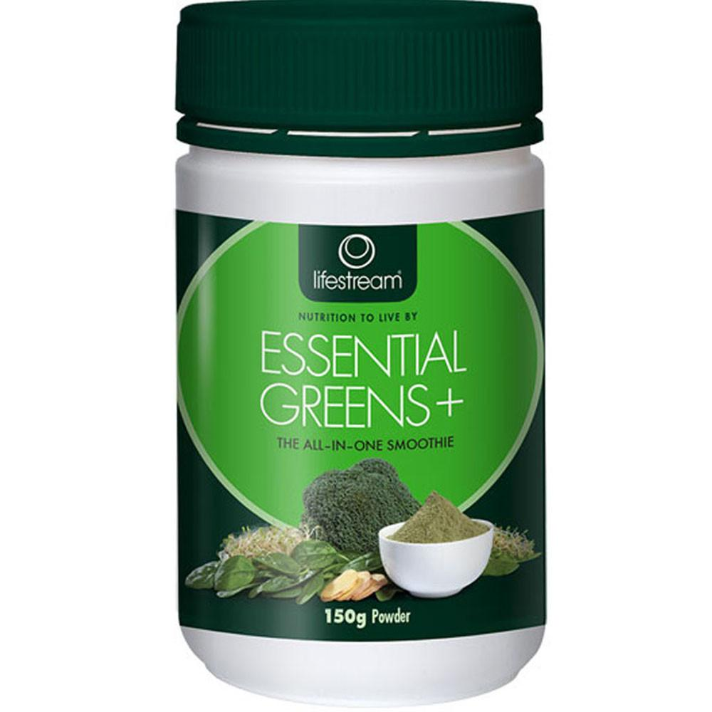 Lifestream Essential Greens Plus Powder 150g