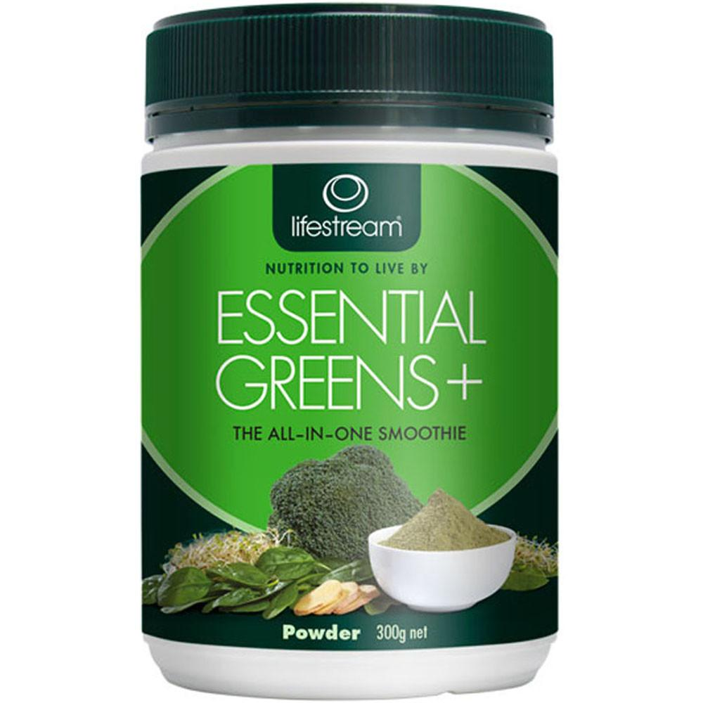 Lifestream Essential Greens Plus Powder 300g