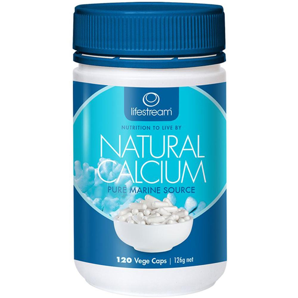 LifeStream Natural Calcium 120 Capsules