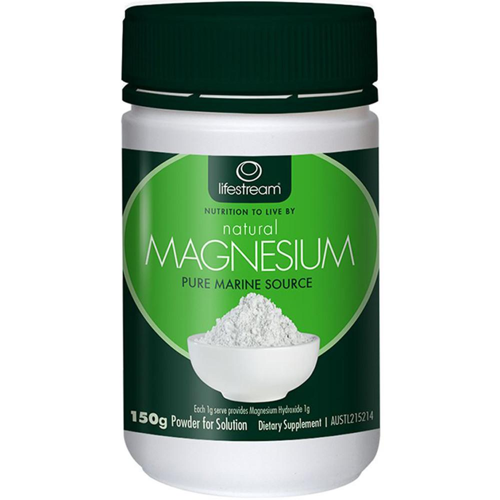 LifeStream Natural Magnesium (Pure Marine Source) 150g
