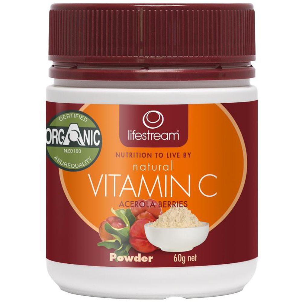 Lifestream Natural Vitamin C 60g