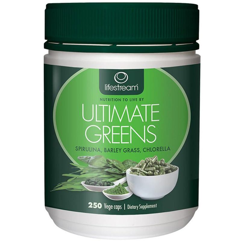 LifeStream Ultimate Greens 250vc
