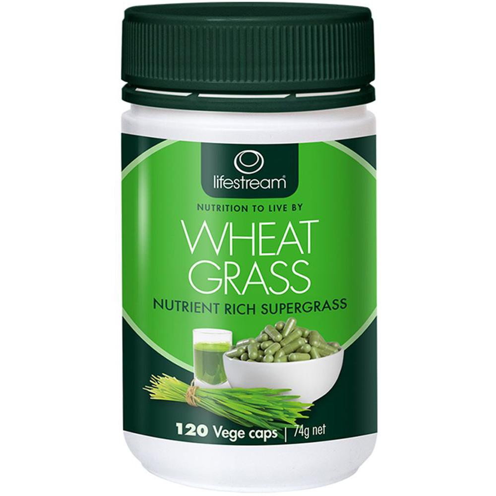 LifeStream Wheat Grass 120vc