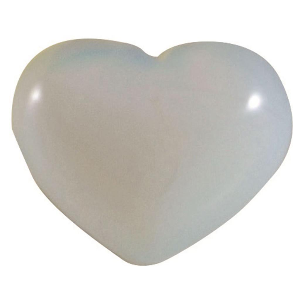 LinenCo Moonstone Heart