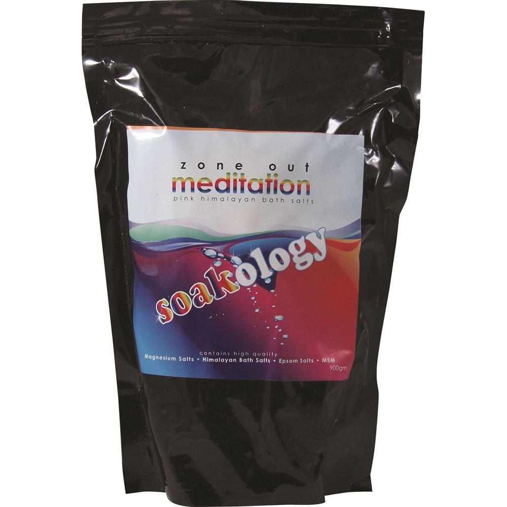 LinenCo Soakology Bath Salts Meditation 900g