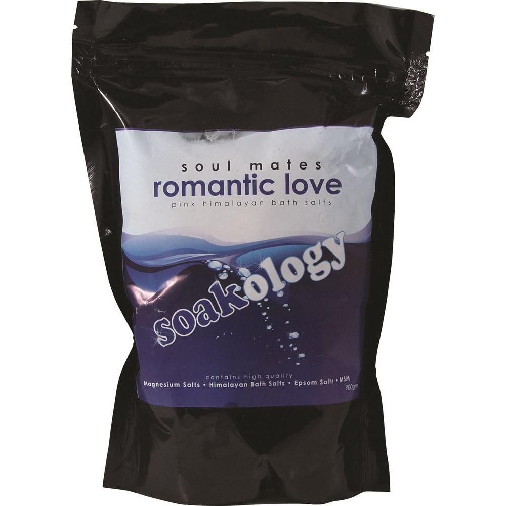 LinenCo Soakology Bath Salts Romantic Love 900g