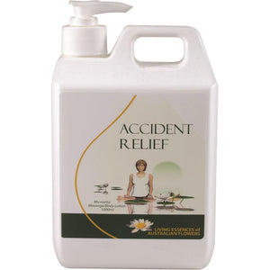Living Essences Accident Relief Cream 1L