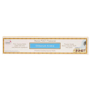 Marco Polo'S Treasures Incense Sticks 10 Olibanum Arabia