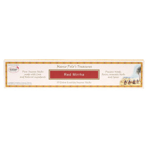 Marco Polo'S Treasures Incense Sticks 10 Red Mirrha