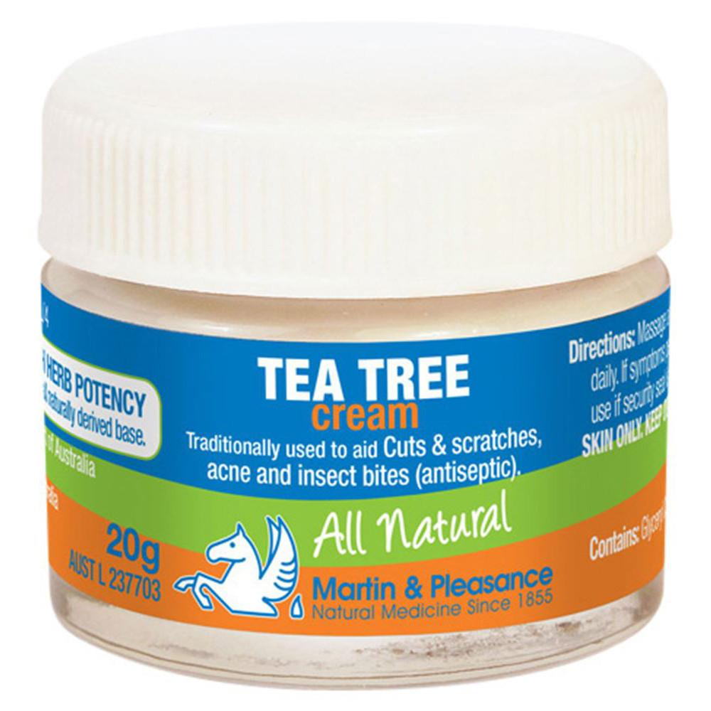Martin & Pleasance All Natural Cream Tea Tree 20g
