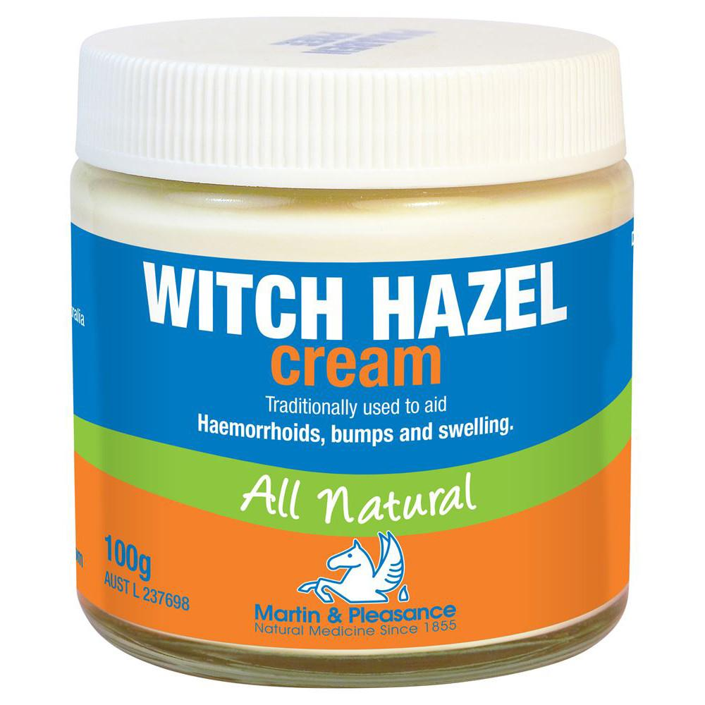 Martin & Pleasance All Natural Cream Witch Hazel 100g