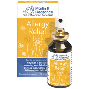 Martin & Pleasance Homoeopathic Complex Allergy Relief 25ml Spray