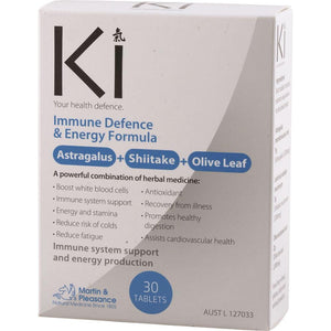 Martin & Pleasance Ki Immune Defence & Energy 30t