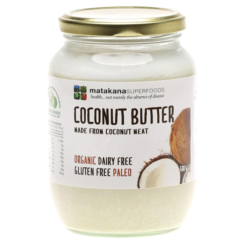 Matakana Superfoods Coconut Butter 500g Creamed Coconut Meat
