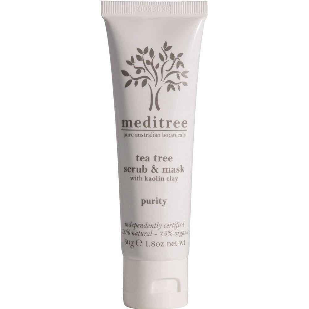 Meditree Acne Prone Skin Tea Tree Cleansing Scrub and Mask 50g