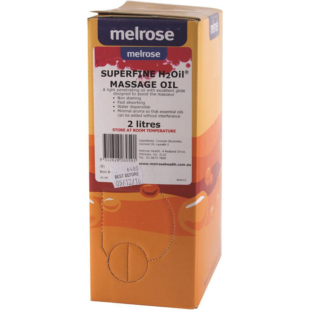 Melrose H2Oil Superfine Massage 2L