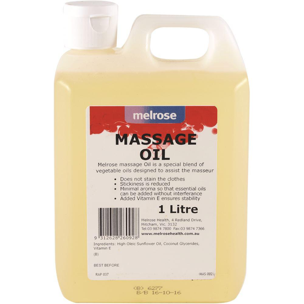 Melrose Massage Oil (unscented) 1L