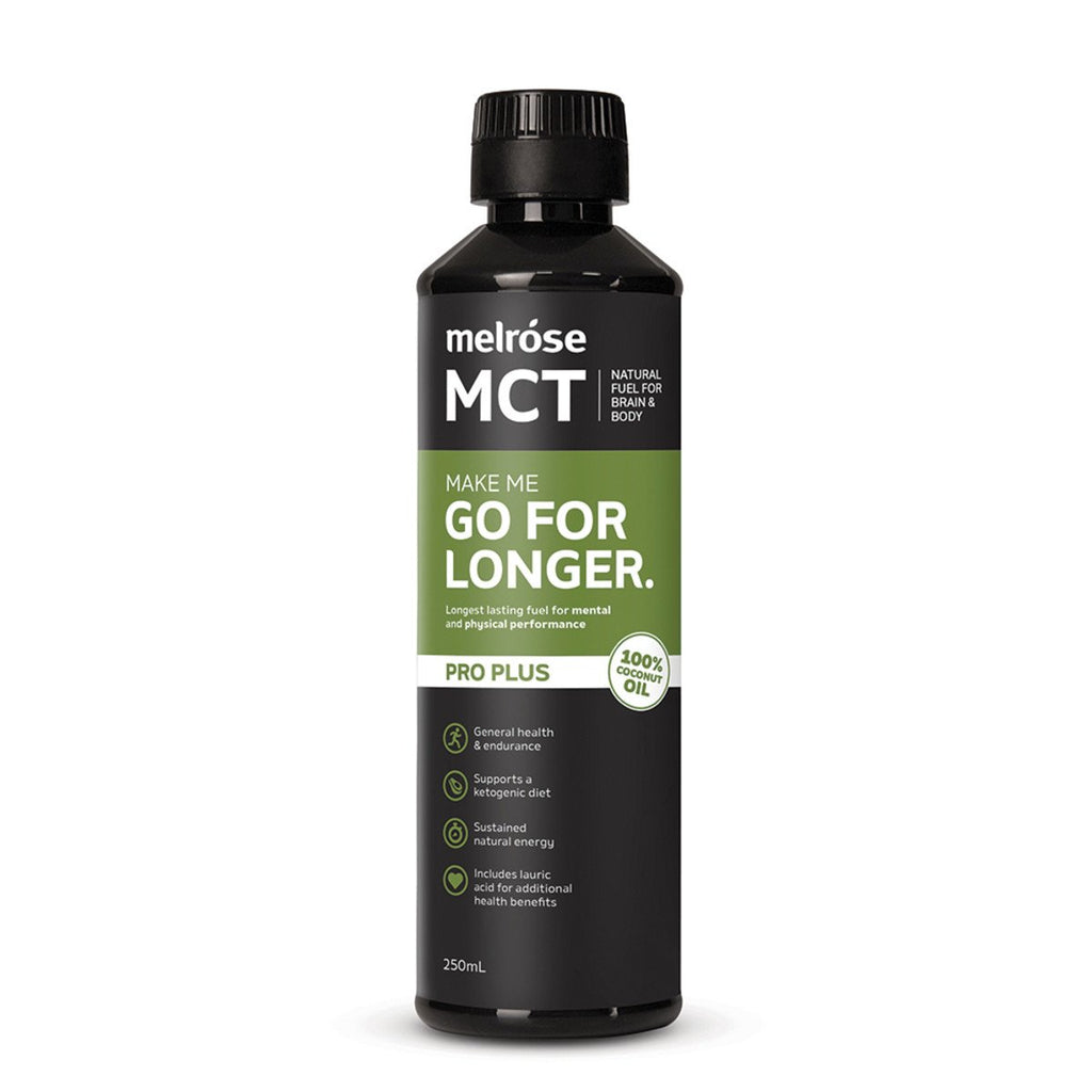 Melrose MCT Pro Plus Go for Longer Oil 250ml
