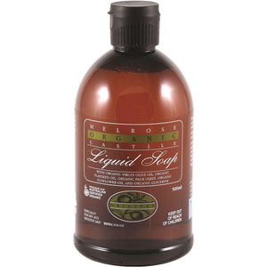 Melrose Organic Castile Soap Original Refill 500ml