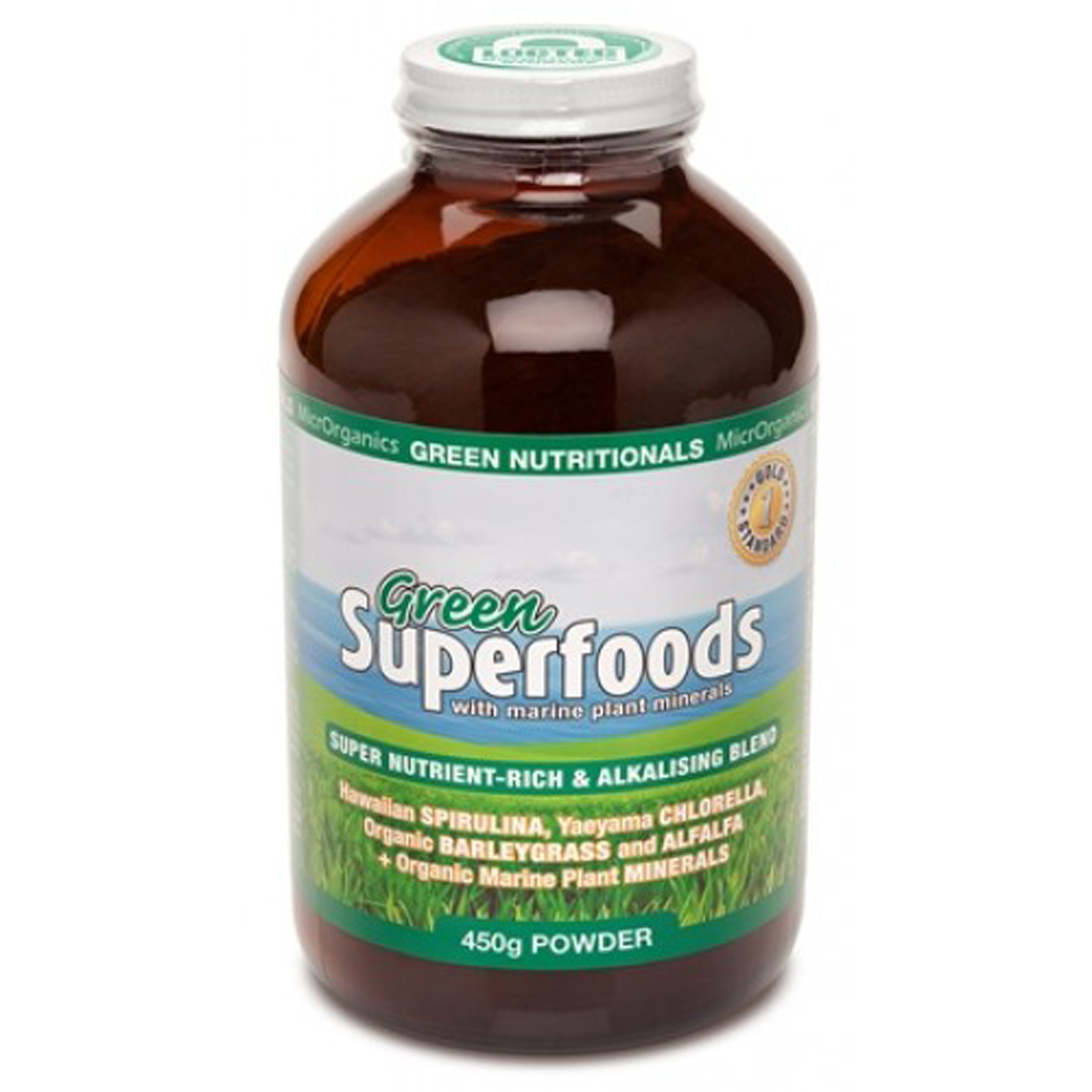 MicrOrganics Green Nutritionals Green Superfoods Powder 450g