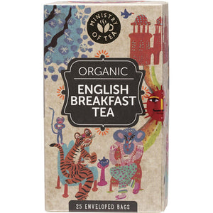 Ministry Of Tea Herbal Tea Bags English Breakfast 25