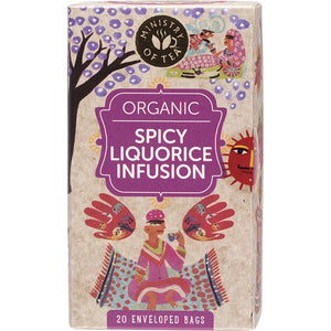 Ministry Of Tea Herbal Tea Bags Spicy Liquorice Infusion 20