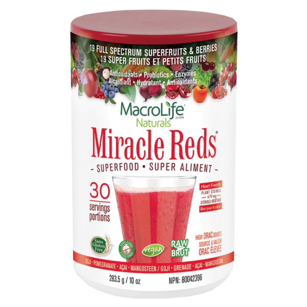Miracle Reds Superfood 283.5g Powder