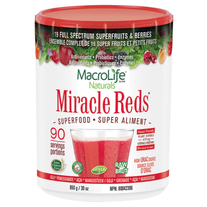 Miracle Reds Superfood 850g Powder