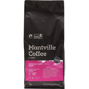 Montville Coffee Coffee Ground (Espresso) 1kg Sunshine Coast Blend