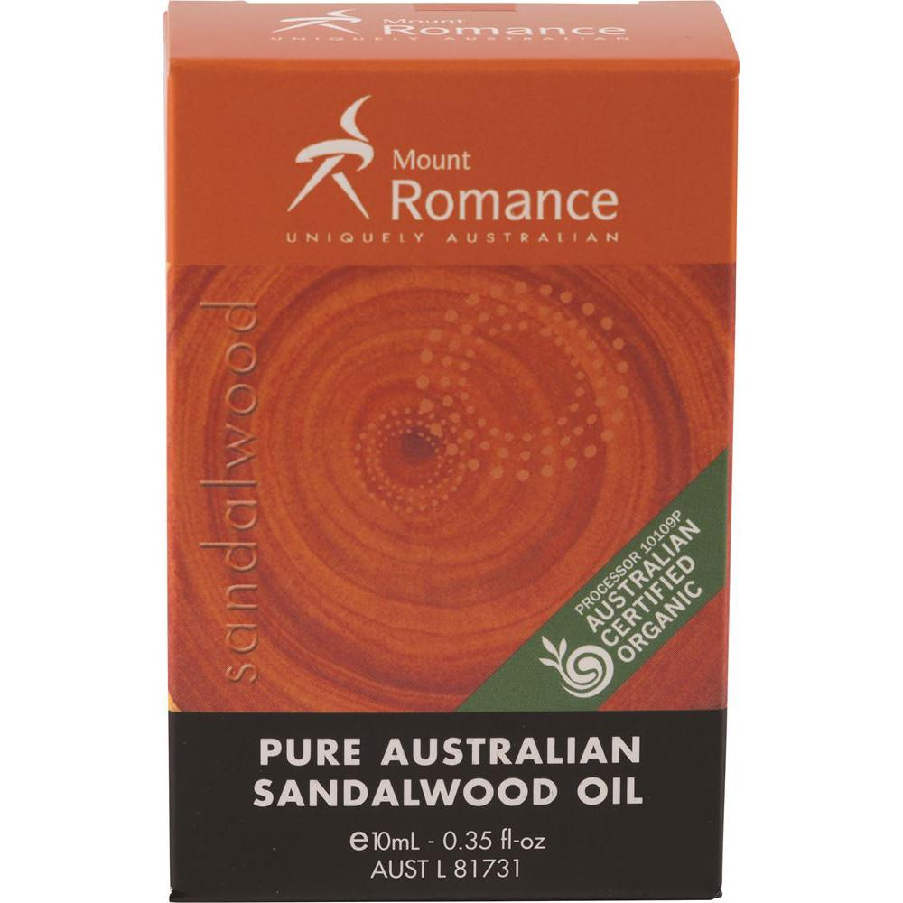 Mount Romance Pure Australian Sandalwood Oil 10ml