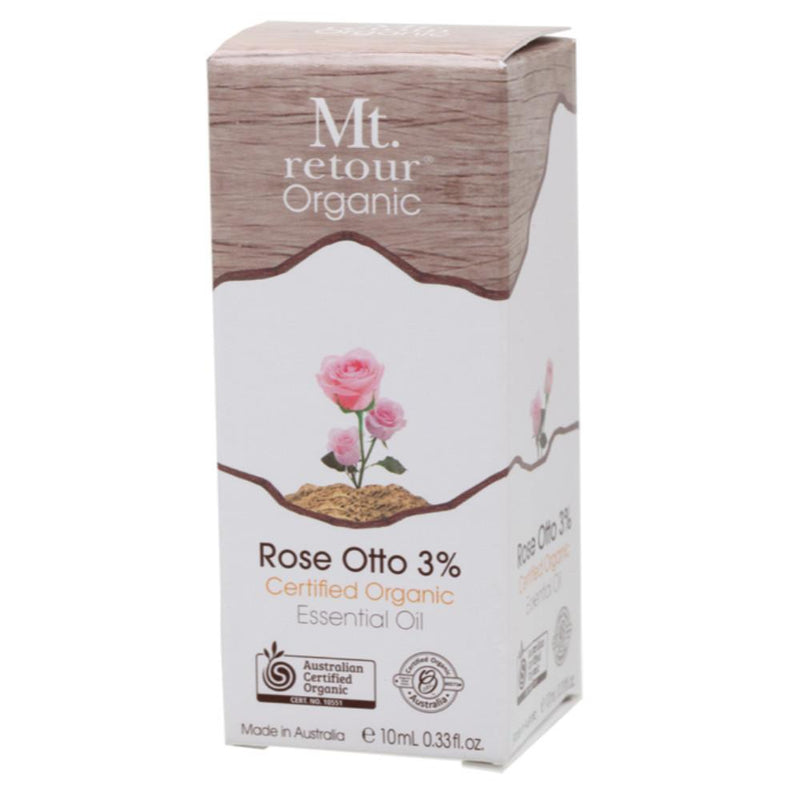 Mt Retour Essential Oil 10ml Rose Otto 3% (in Jojoba Oil)
