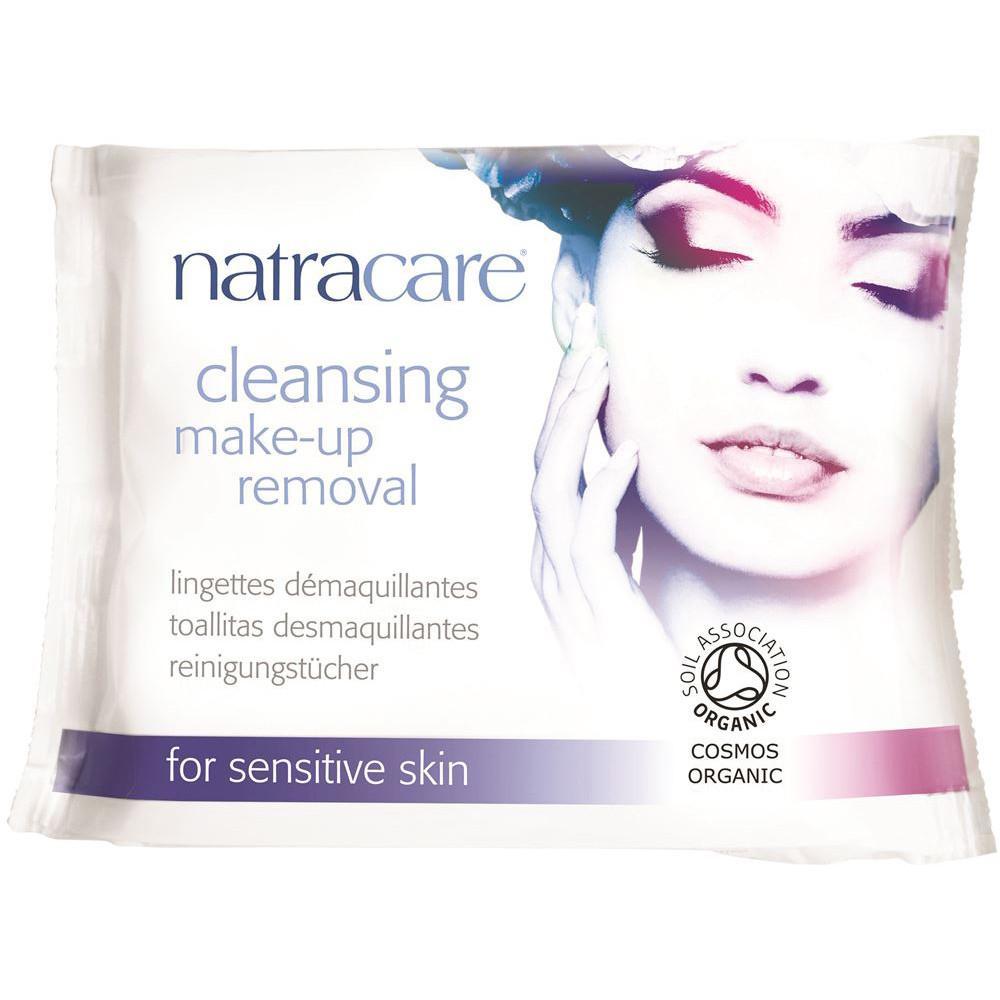 Natracare Cleansing Make-up Wipe for Sensitive Skin x 20 Pack