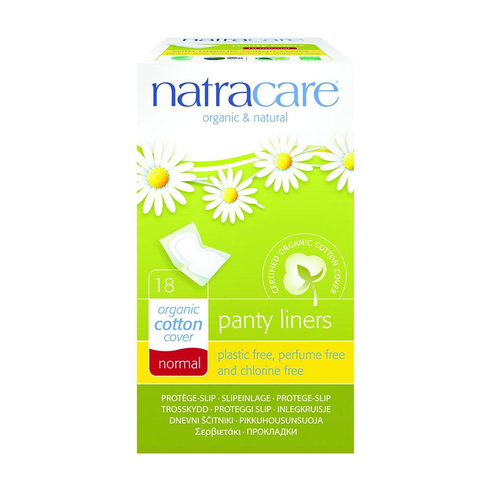 Natracare Panty Liners Normal with Organic Cotton Cover x 18 Pack