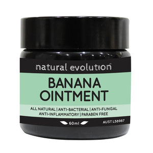 Natural Evolution Banana Ointment 60ml All Natural Healing Ointment