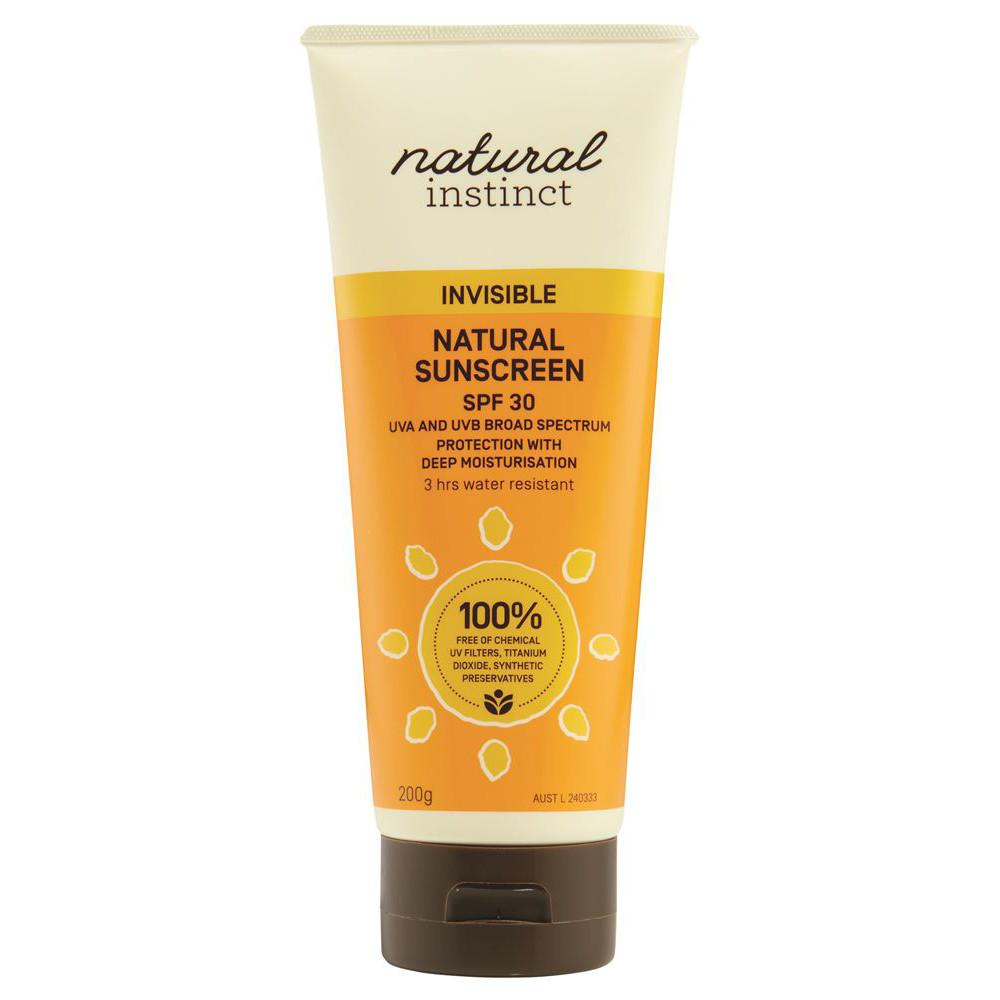 Natural Instinct Sunscreen Invisible 200g