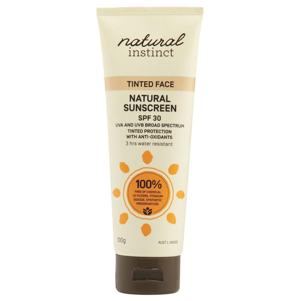 Natural Instinct Sunscreen Tinted Face 100g