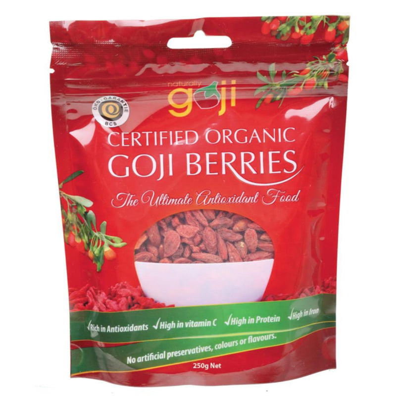 Naturally Goji Goji Berries 250g