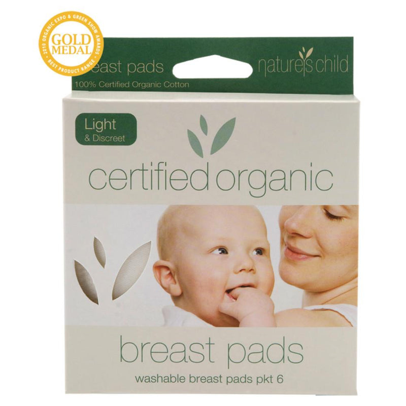 Nature's Child Cotton Breast Pads 6 Light