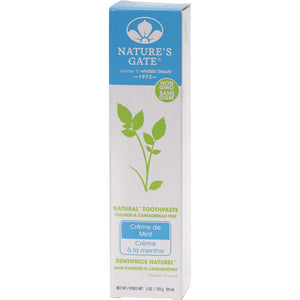 Nature's Gate Toothpaste 170g Creme de Mint
